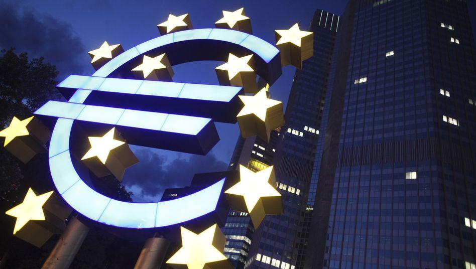 Euro-Zentralbank in Frankfurt: Angst vor der Ansteckung