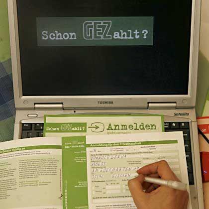 GEZ-Antrag: Seit Januar auch für internetfähige Computer auszufüllen
