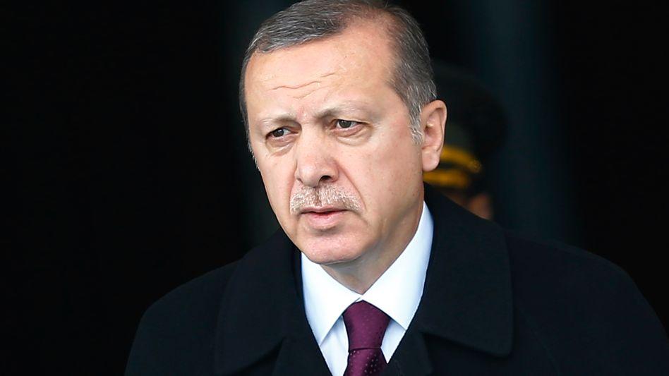 Staatschef Erdogan: Alle Mahlzeiten werden überprüft