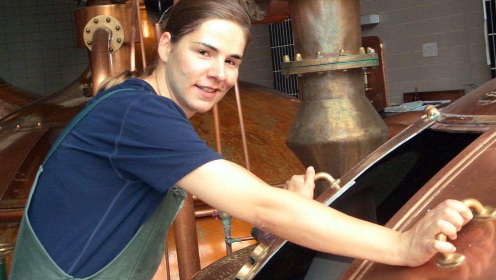 Bier-Pionierin: Schichtdienst im Sudhaus