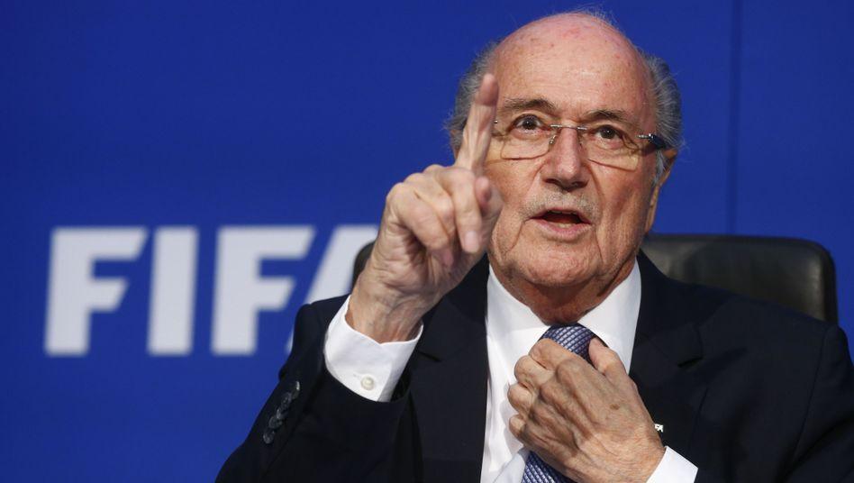 """Suspendierter Fifa-Boss Blatter: """"Das hätte ich machen sollen"""""""