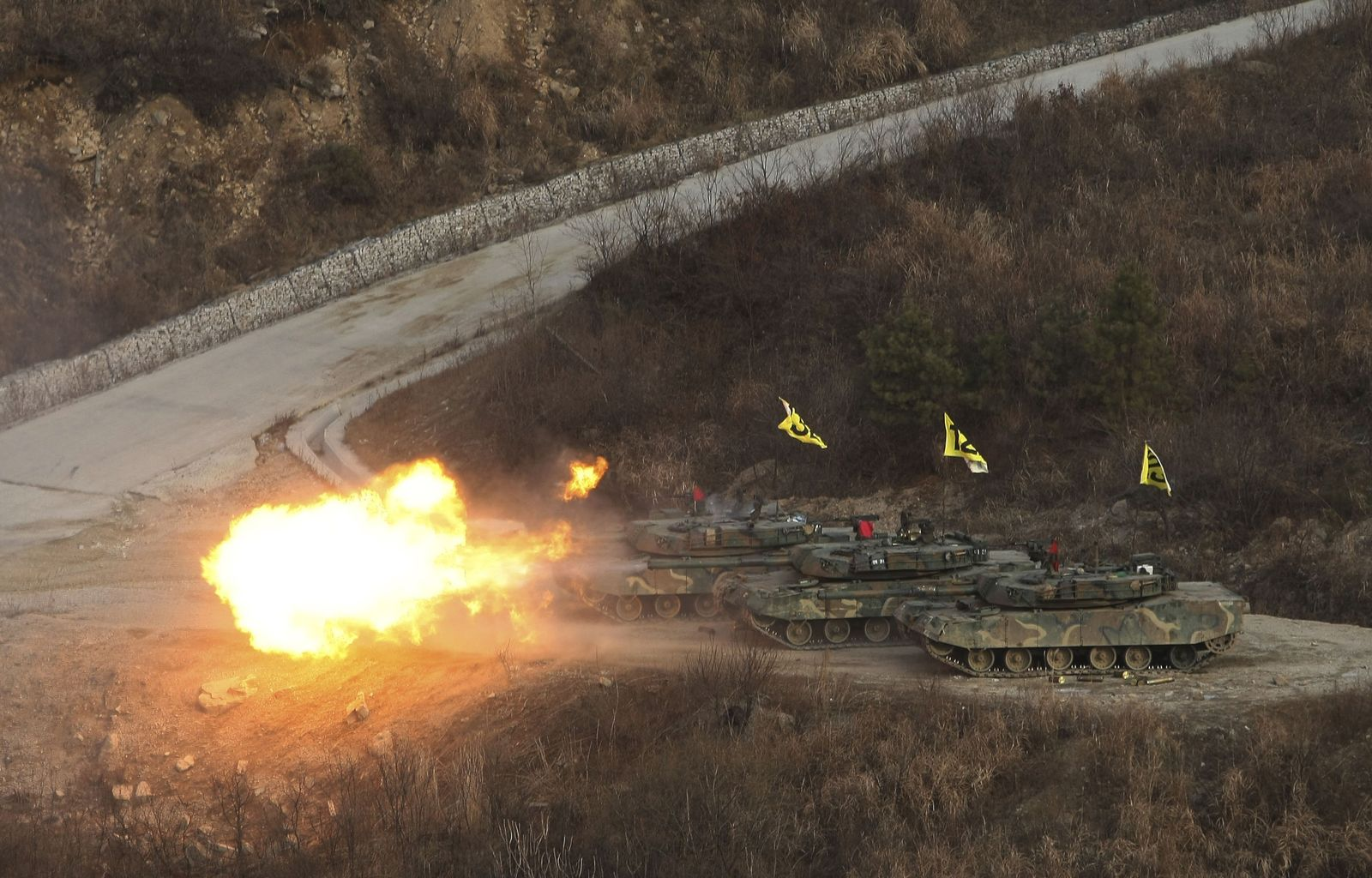 Südkorea/ Manöver