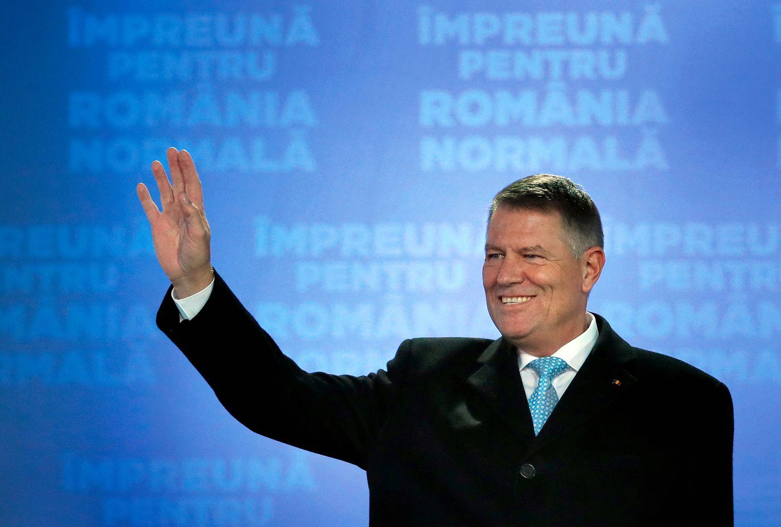 Rumänien Iohannis