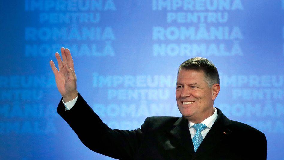 """Klaus Iohannis nach seiner Wiederwahl: """"Ich bin Rumäne, ich habe mich dafür entschieden zu bleiben"""""""