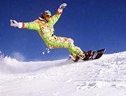 Snowboarder finden in Osteuropa freie Pisten vor