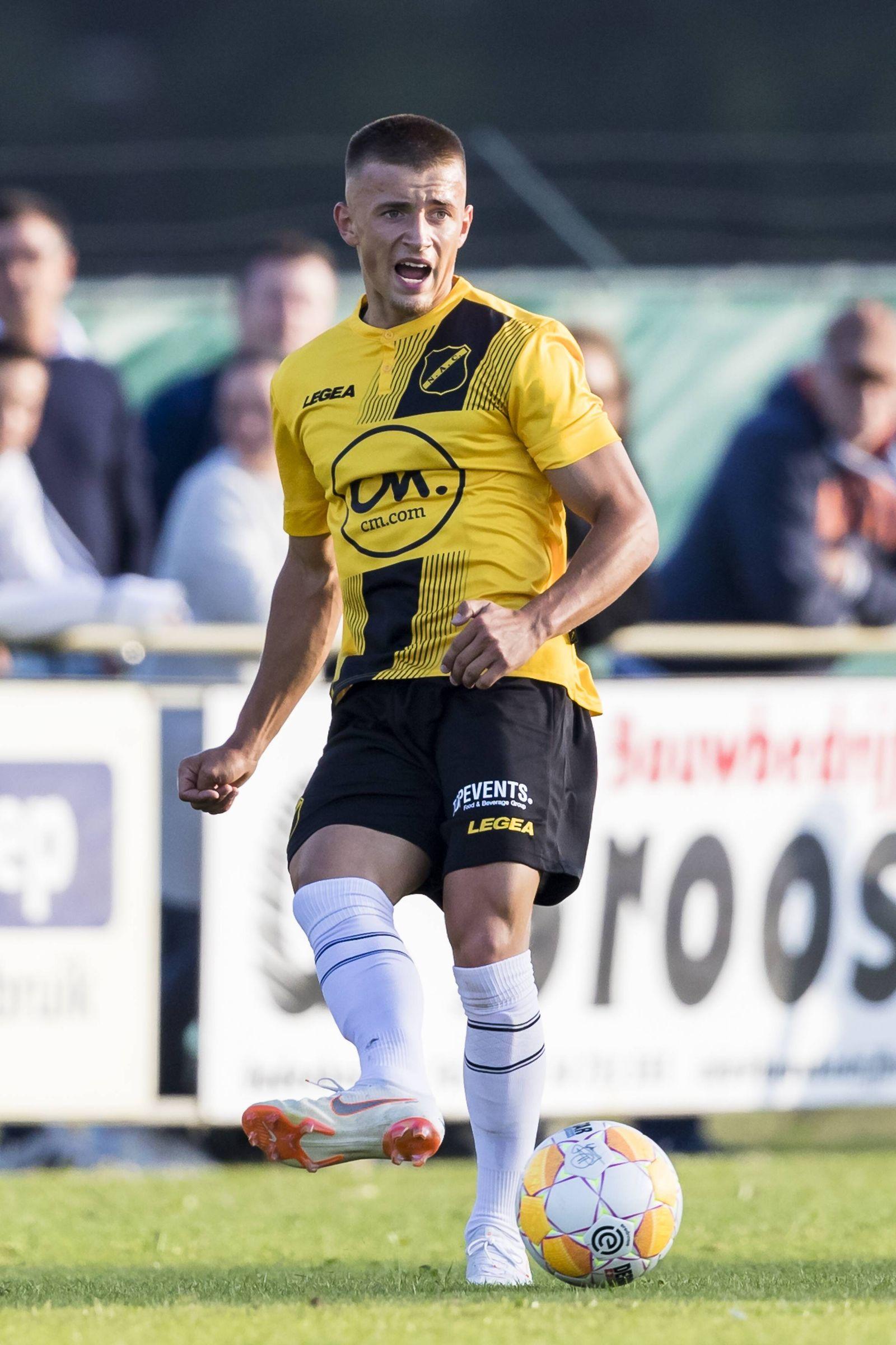 OUDENBOSCH 10 07 2018 soccer Dutch eredivisie season 2018 2019 NAC player Mike van Beijnen du