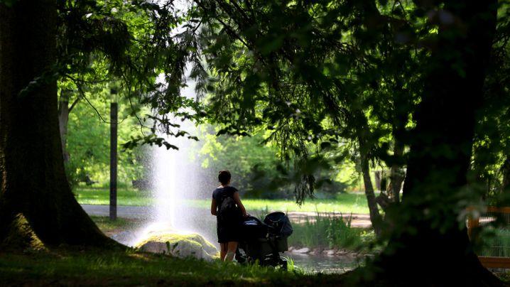 Unwetter: Muttertag fällt vielerorts ins Wasser