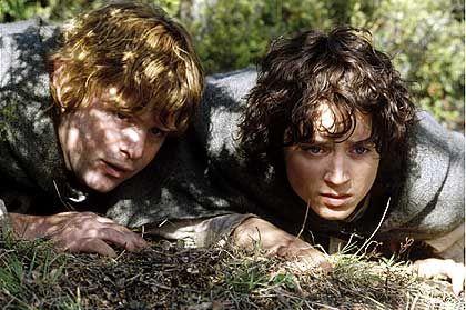 """Hobbit-Pärchen Sam und Frodo: """"Gleich küssen sie sich!"""""""