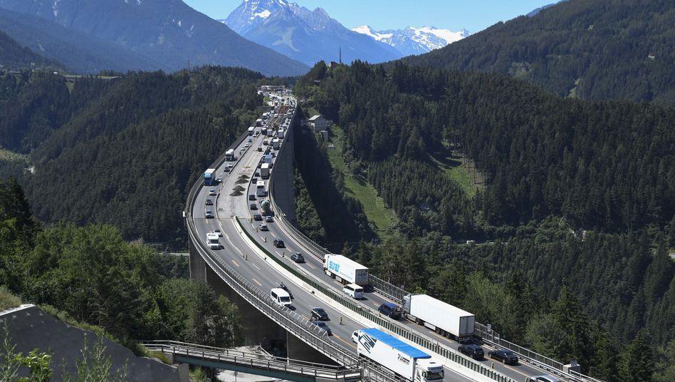 österreich Straßensperrungen