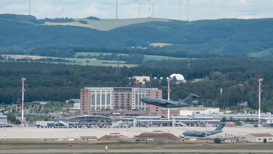Ramstein Air Base im Landkreis Kaiserslautern
