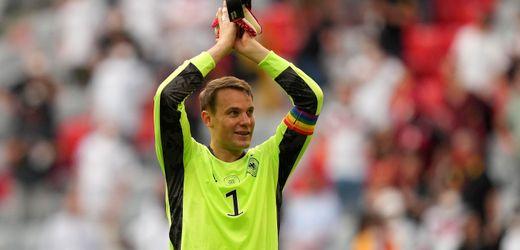 Fußball-EM 2021: Uefa stellt Ermittlungen wegen Regenbogen-Kapitänsbinde von Manuel Neuer ein