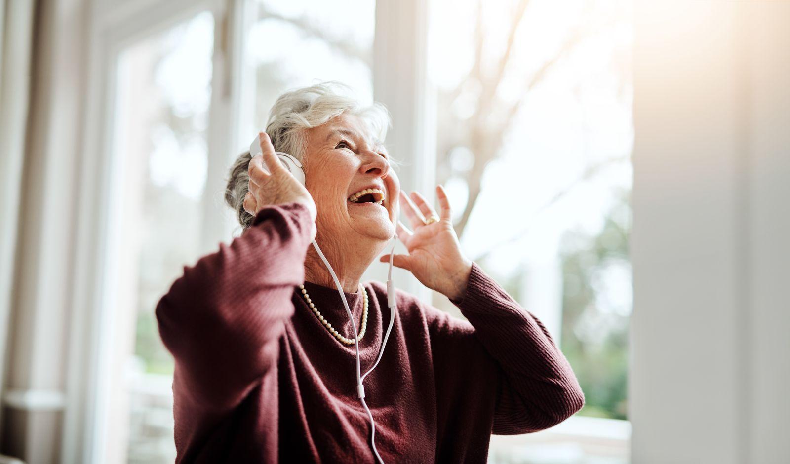EINMALIGE VERWENDUNG Alzheimer / Musik