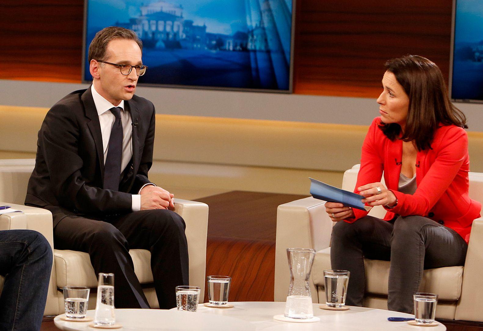 EINMALIGE VERWENDUNG TV/ Anne Will