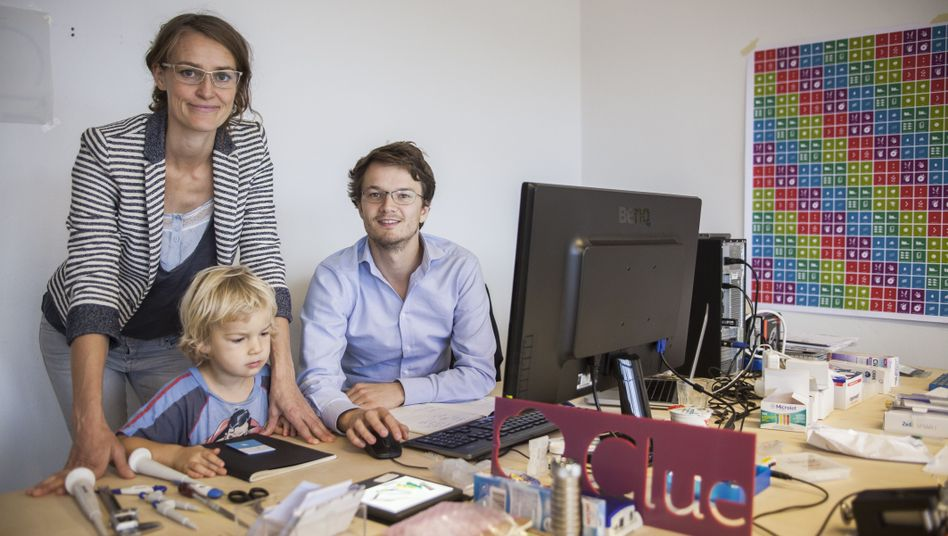 Ida Tin and Hans Raffauf developed the Clue app, which can predict menstrual cycles and help with family planning.
