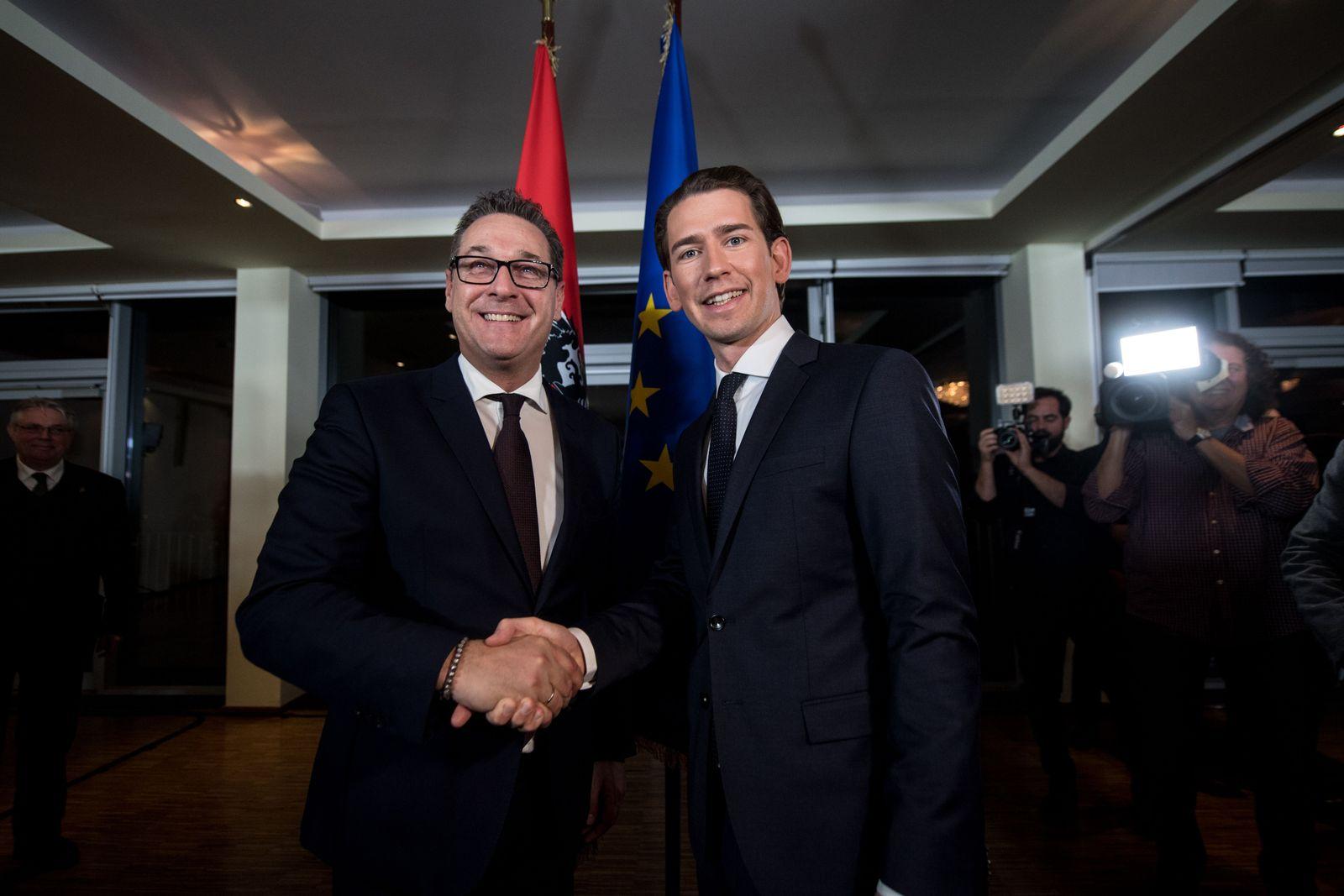 ÖVP/ FPÖ/ Sebastian Kurz/ Heinz-Christian Strache