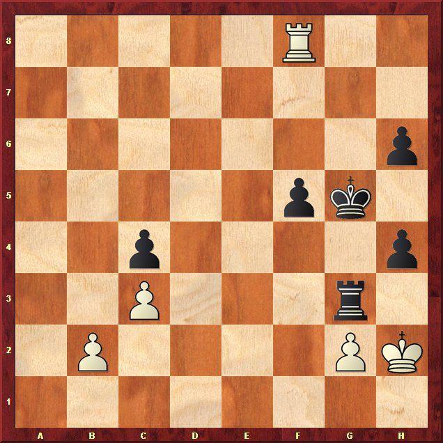 EINMALIGE VERWENDUNG Schach-WM 2013 / Analysen / Stellung 6.4