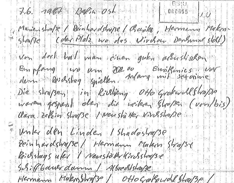 NUR FÜR EINESTAGES Proteste / Wensierksi
