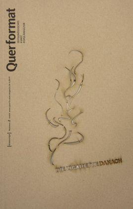 """Cover Zeitschrift """"Querformat"""": Kulturwissenschaftliches Magazin und Designobjekt"""
