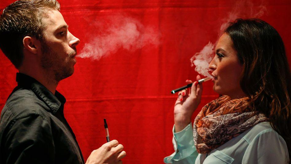 E-Zigaretten-Konsumenten in den USA