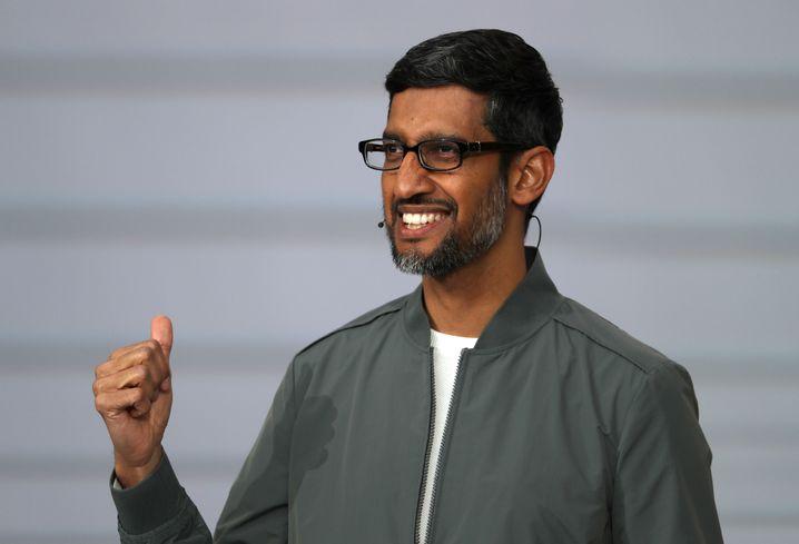 Erwähnte die Proteste im eigenen Haus mit keinem Wort: Google-CEO Sundar Pichai