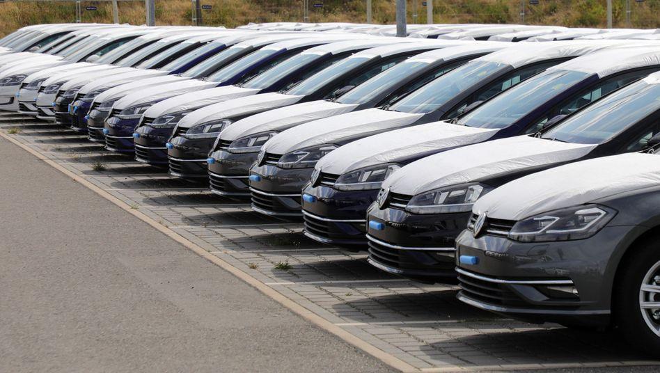 Neuwagen von VW (Archivbild)