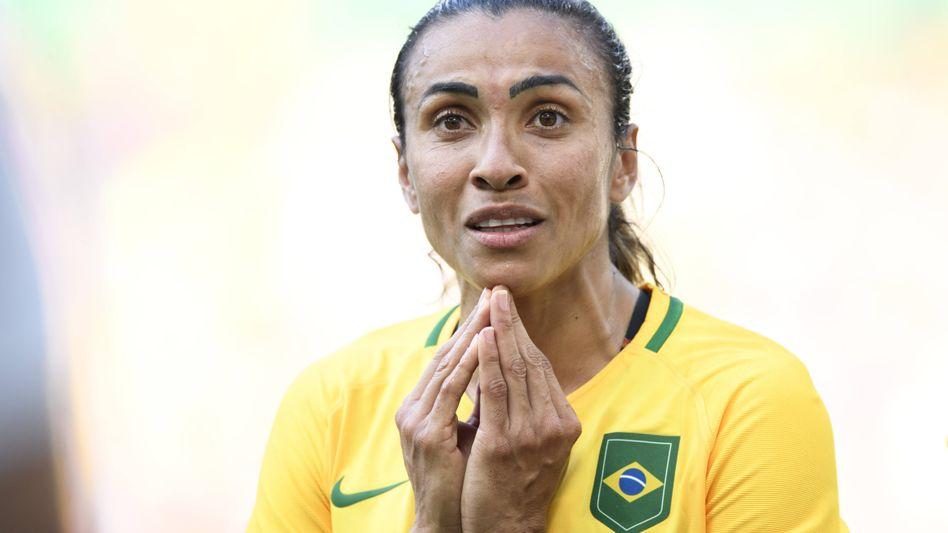 Brasiliens Superstar Marta