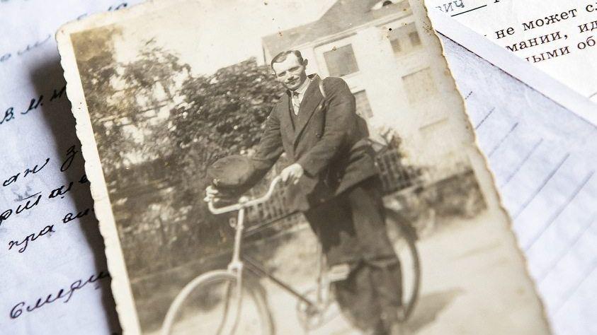Vater Gustav Schulz 1933