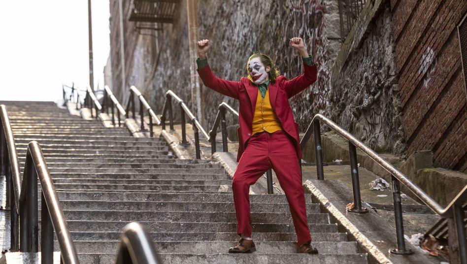 """Treppentänzer in der Bronx: Joaquin Phoenix in """"Joker"""""""