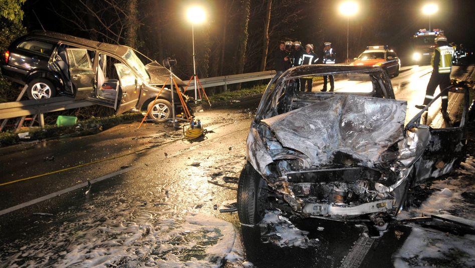 Unfall (auf der B486 zwischen Offenthal und Langen): Deutlich weniger Verkehrstote