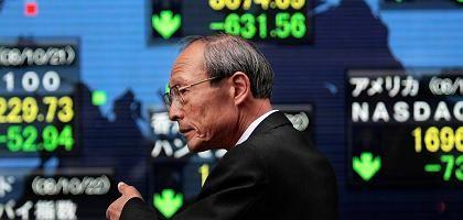 Japanischer Börsenhändler: Nikkei auf Achterbahnfahrt