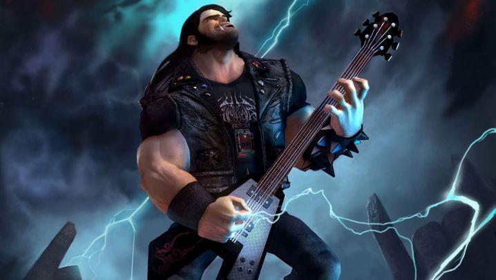 Brütal Legend: Gitarren-Comedy mit Ozzy und Lemmy