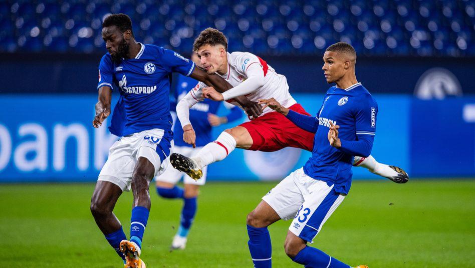 Der VfB war das aktivere Team, Schalke merkte man die lange Phase der Sieglosigkeit an