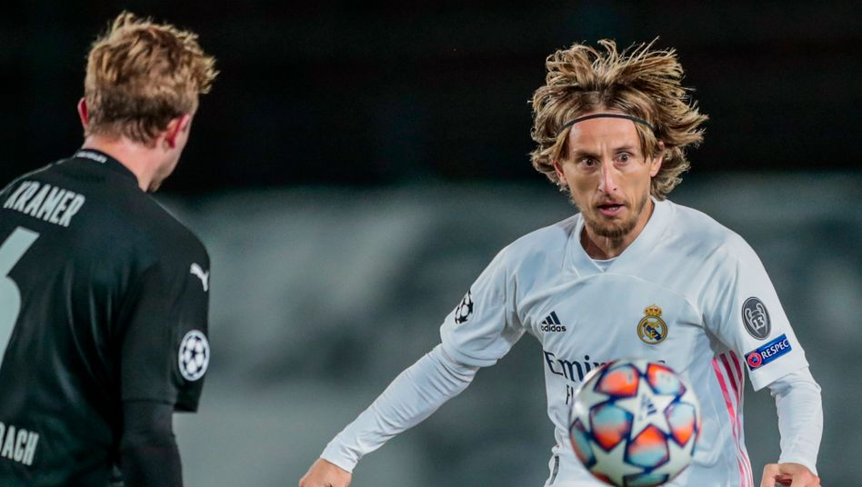 Den Ball immer vor Augen: Luka Modric