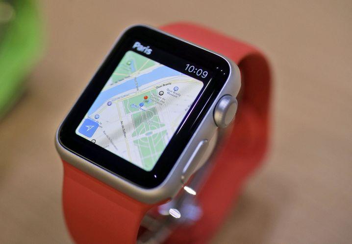 Apple Watch: Das Gerät misst unter anderem die Herzfrequenz