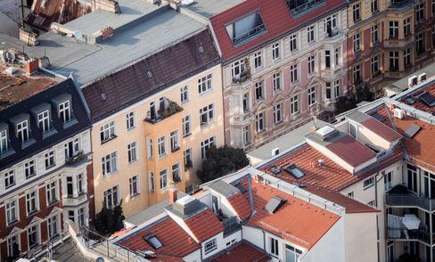 Wohnhäuser im Berliner Bezirk Mitte