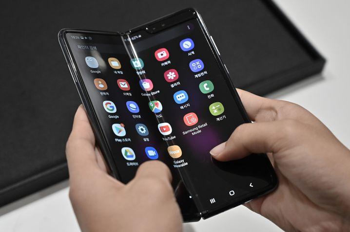 Samsungs Galaxy Fold nach dem Relaunch