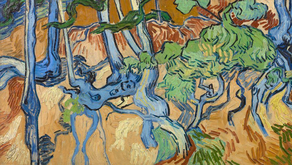 """Letztes Gemälde Van Goghs: """"Baumwurzeln"""""""