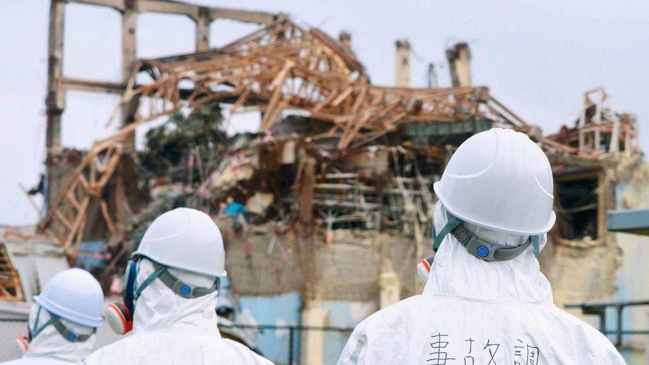 Atomkontrolleure in Fukushima: Zurück zur Tagesordnung