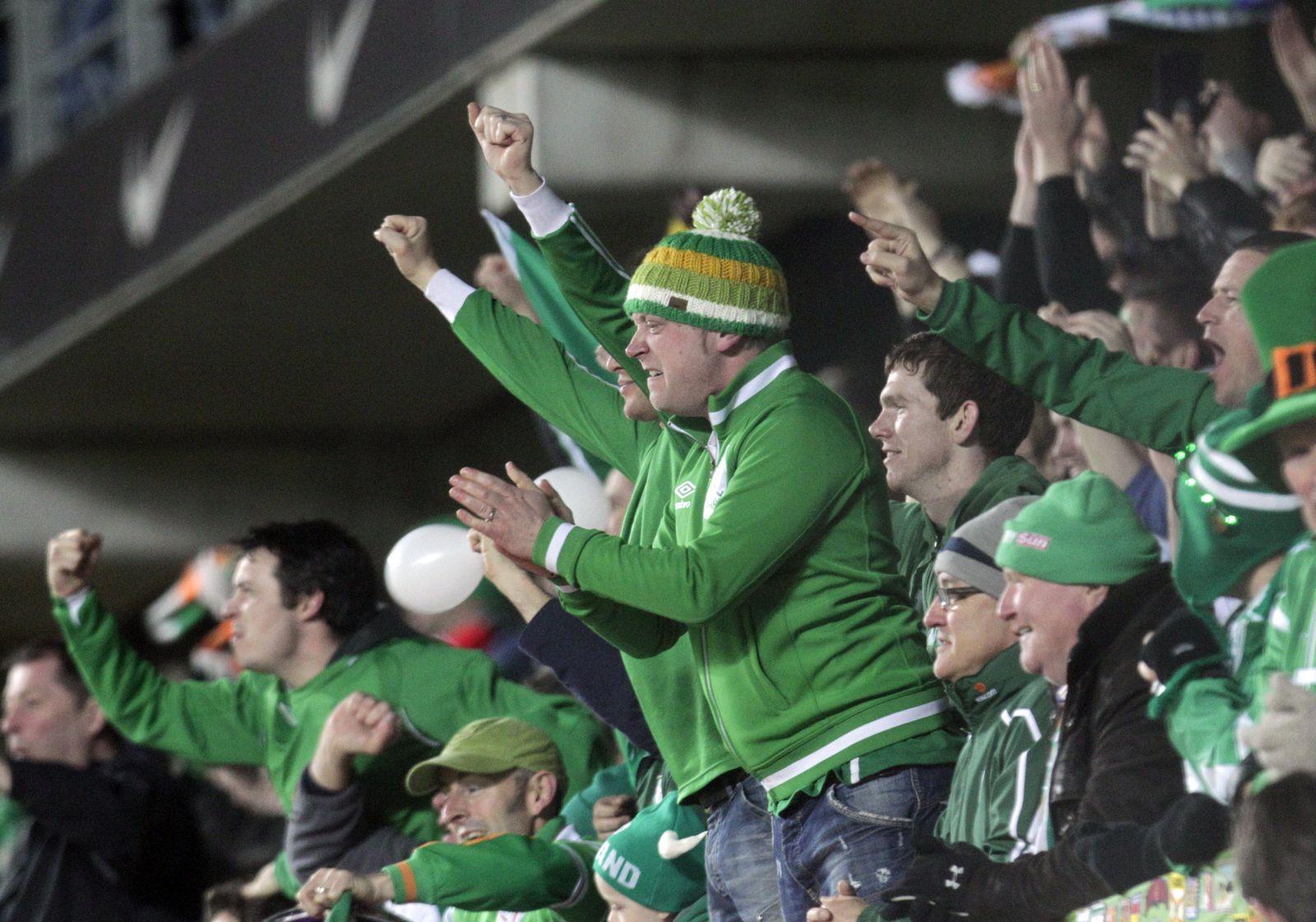 Irland Fans / Fussball