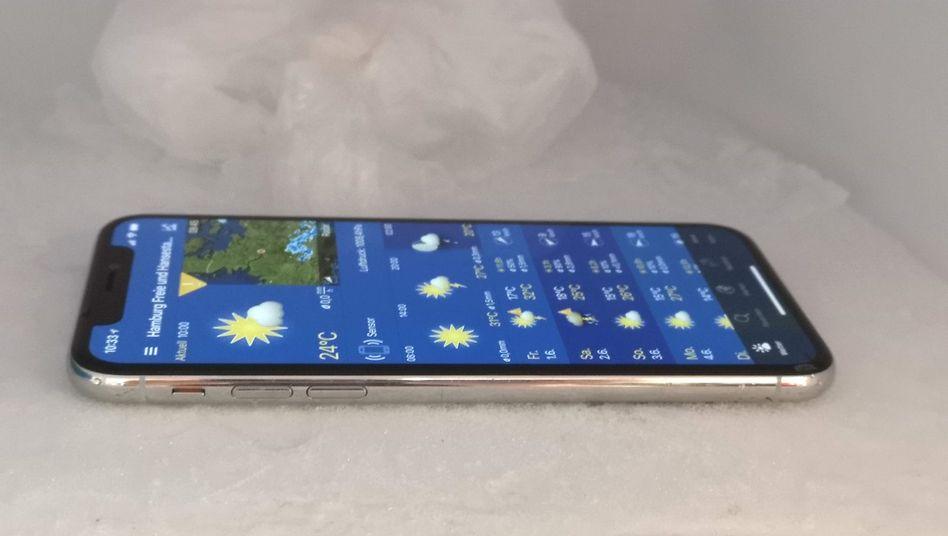 Smartphone im Eisfach