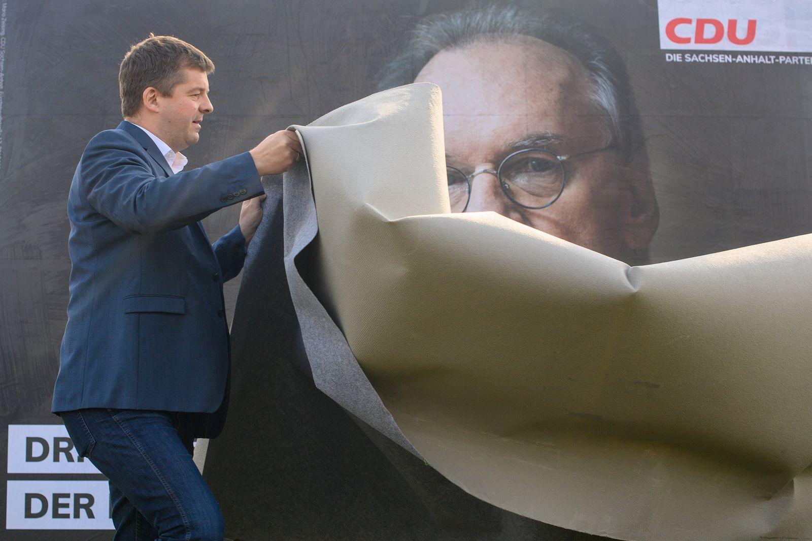 Wahlkampf in Sachsen-Anhalt