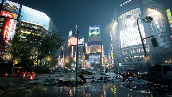 """Playstation-5-Spiel """"Ghostwire: Tokyo"""""""