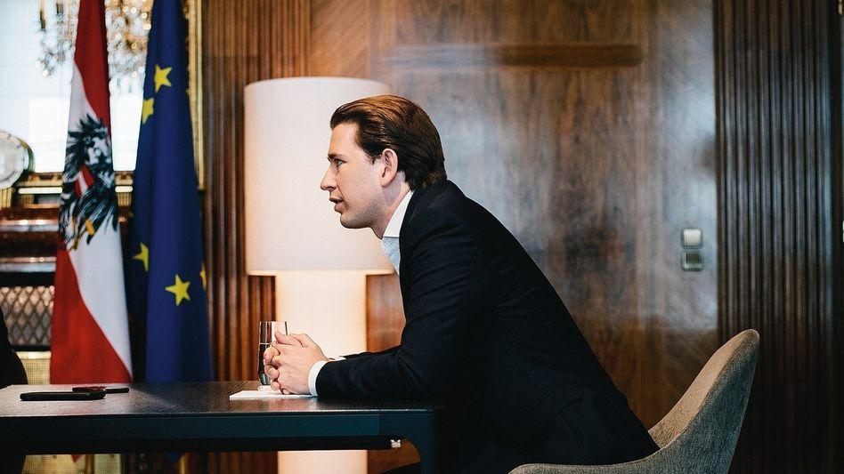 "Austrian Chancellor Sebastian Kurz: ""The EU is a lively democratic community."""