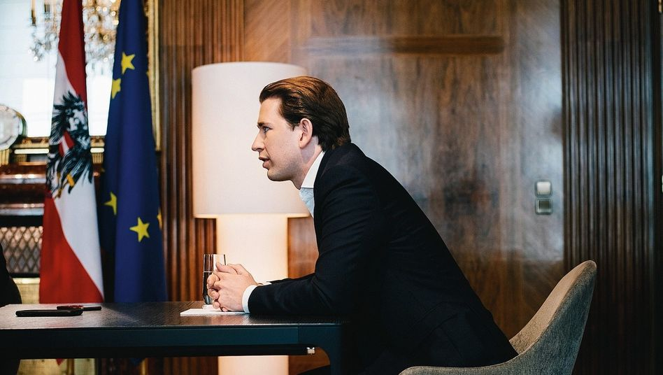 "Austrian Chancellor Sebastian Kurz: ""The EU is a lively democratic community."""