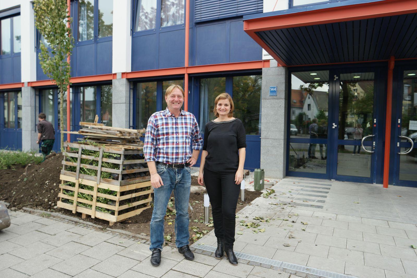 EINMALIGE VERWENDUNG Flüchtlings-und Studentenheim in München