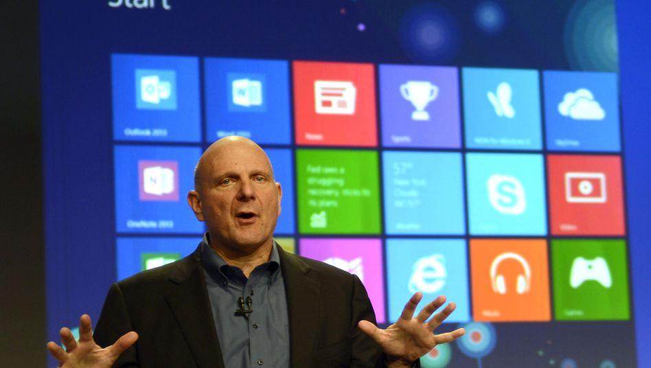 Microsoft-Chef Steve Ballmer: Enge Zusammenarbeit mit den Behörden