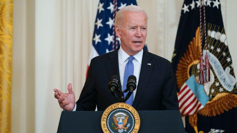 US-Präsident Joe Biden: »Ich werde nicht noch eine weitere Generation Amerikaner in den Krieg nach Afghanistan schicken«