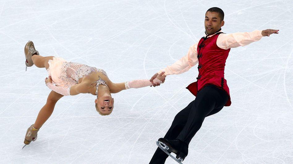 Eiskunstläufer Sawtschenko und Szolkowy: Bronze-Medaille in Sotschi