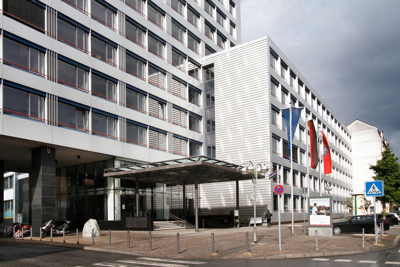 Gerichtsgebäude D mit Oberlandesgericht, Generalstaatsanwaltschaft, hessischer Anwaltsgerichtshof und hessisches Minist