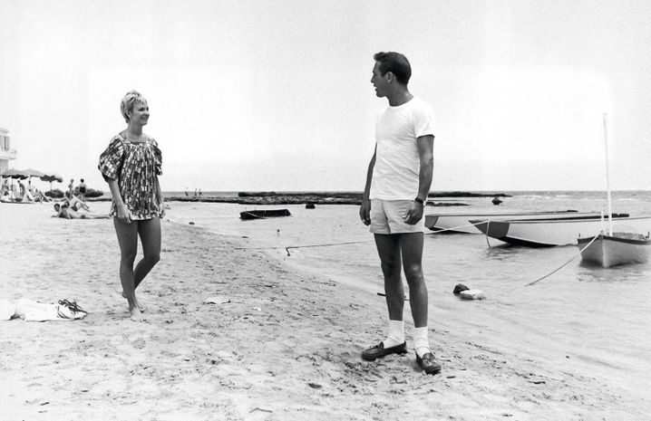 Married actors Joanne Woodward and Paul Newman on Cyprus in 1960: The Las Vegas of the Mediterranean